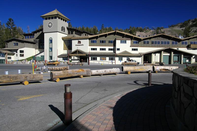 The luxurious Mammoth Ski Resort.