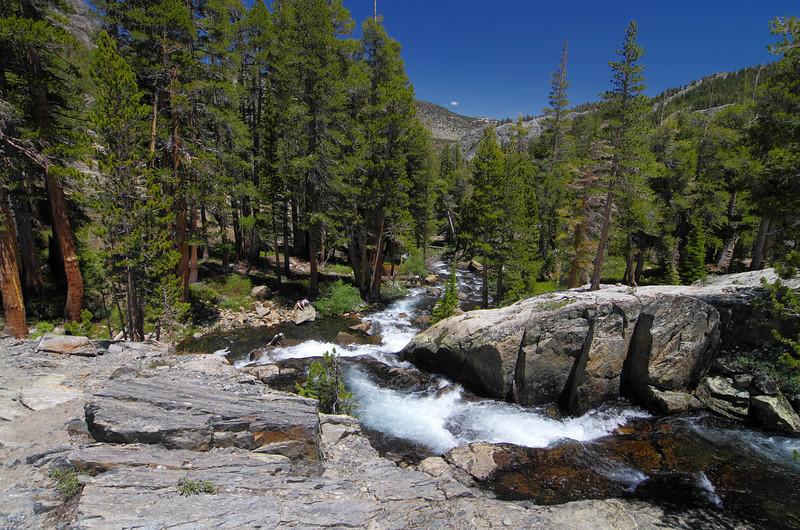 Shadow Creek above Shadow Lake.