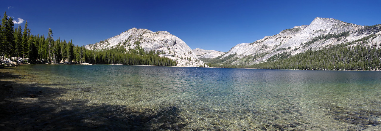 Tenaya Lake Panorama