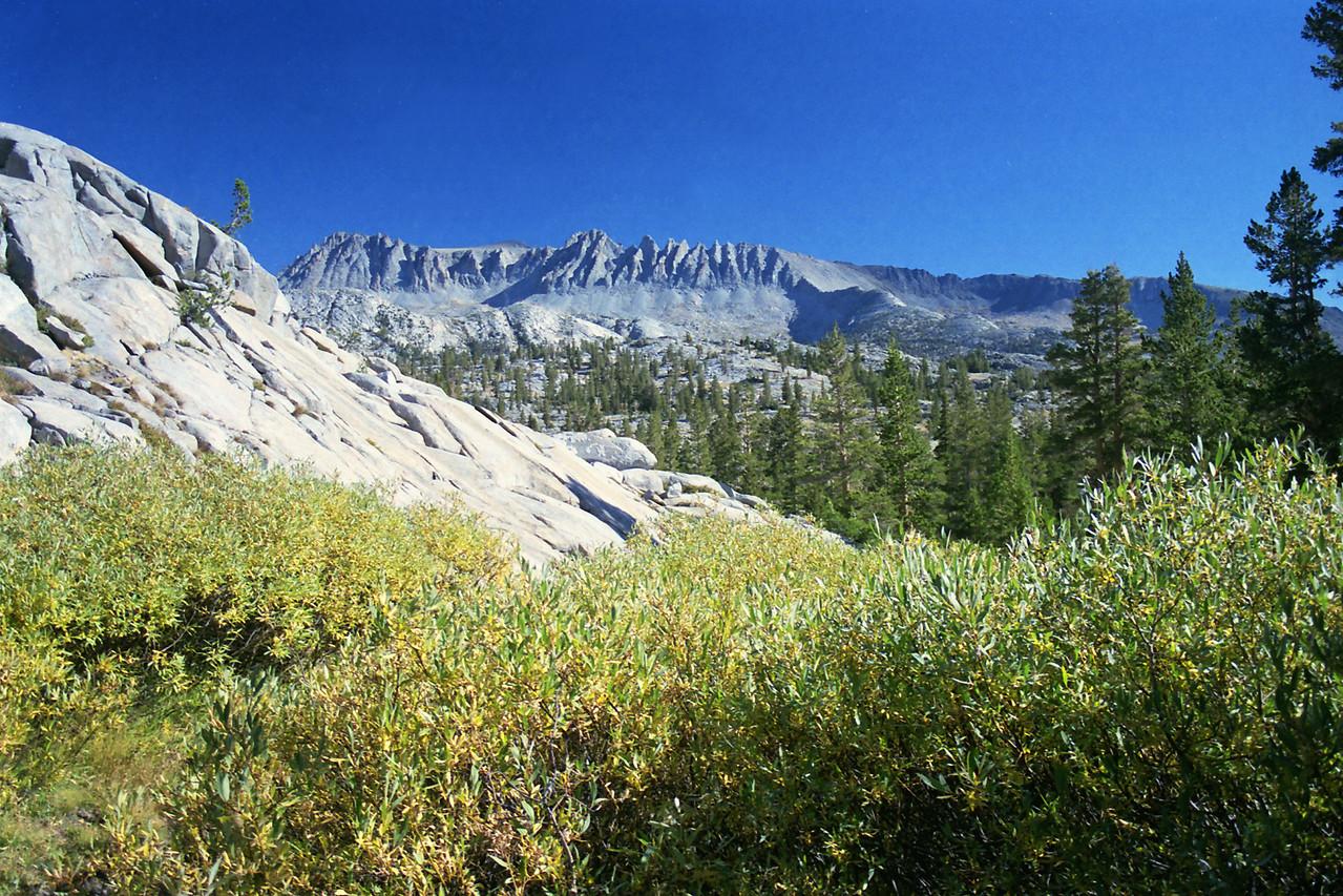 Mt Wood & Parker Peak in the Distance
