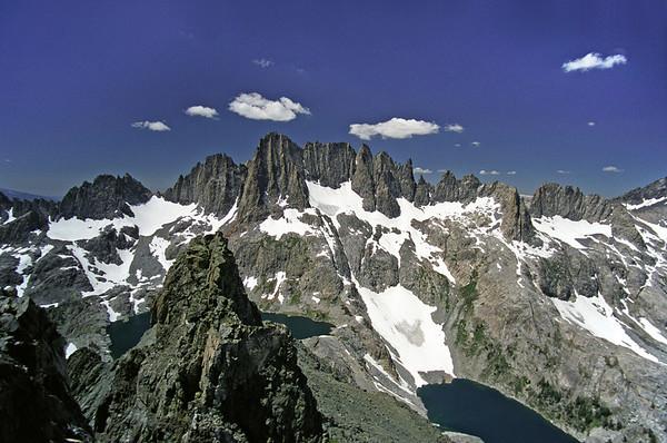 Minaret Lake Trip + Volcanic Ridge Ascent II, June 2002