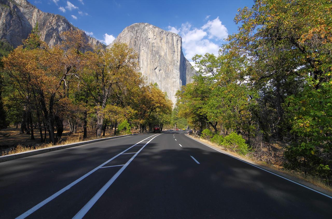 El Capitan on my way through Yosemite Valley as I make my way across the Sierras towards Bishop.