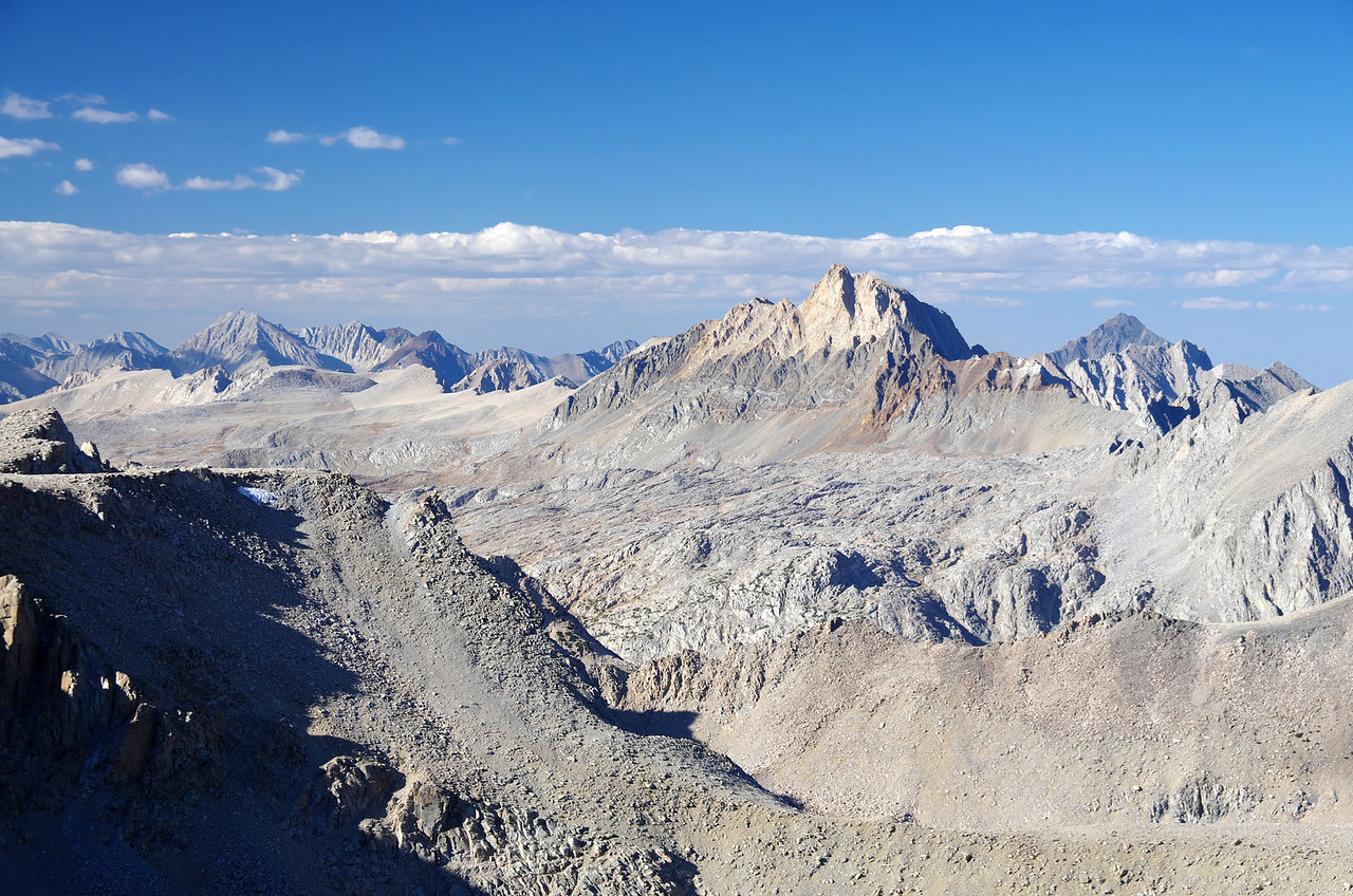 Mount Humphreys as seen from Mount Lamarck.