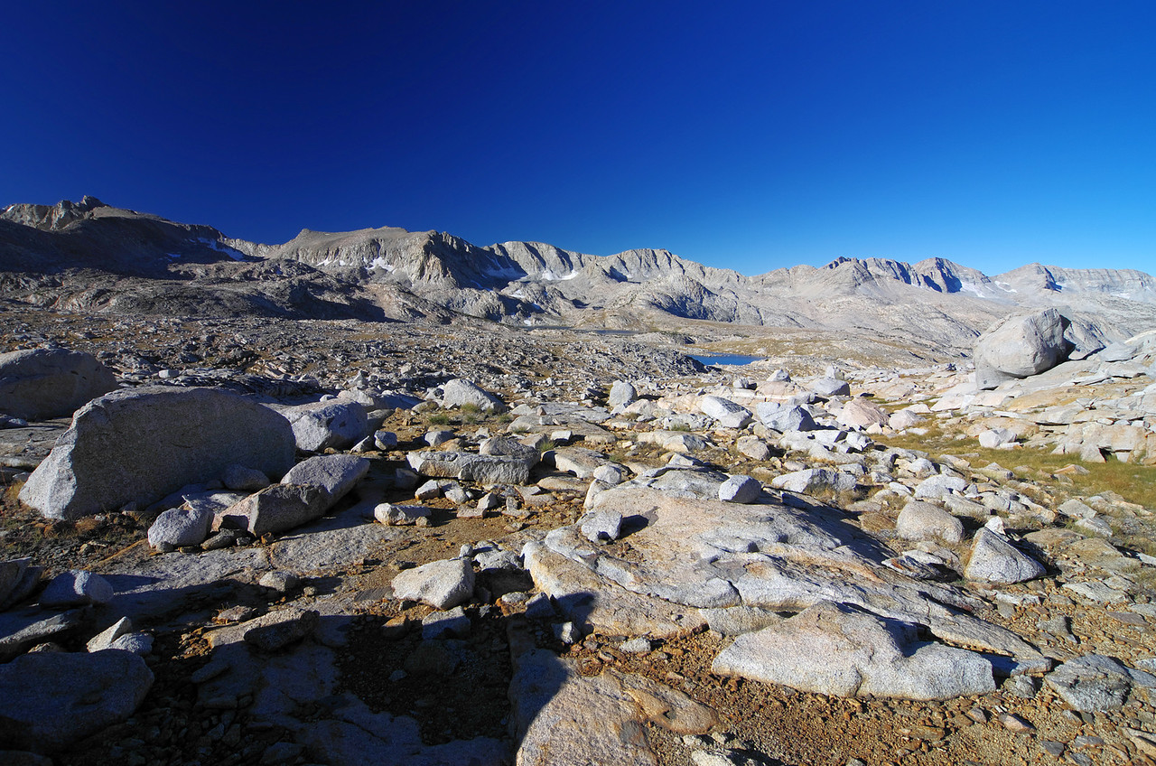 Looking SW from the upper Humphreys Basin.
