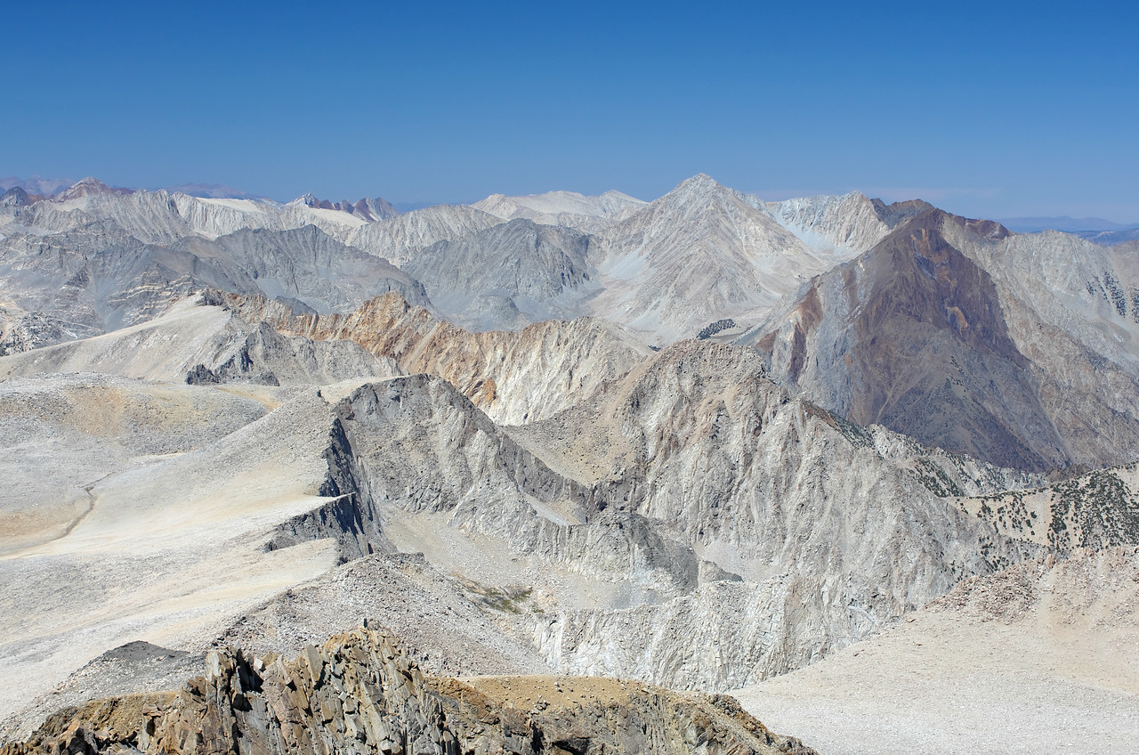 Looking North from the summit of Mount Humphreys.
