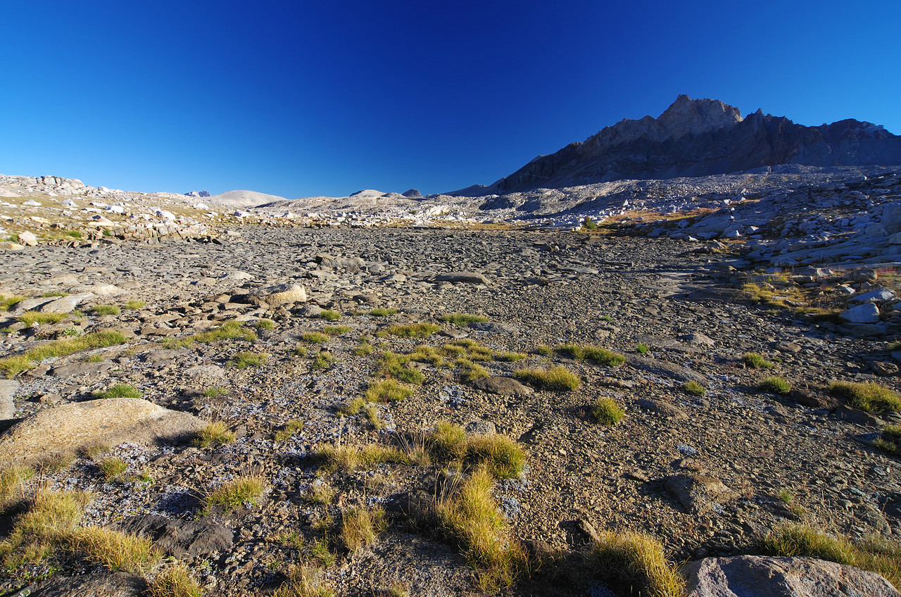 Ascending into the upper Humphreys Basin and making my way towards Mount Humphreys as seen here.