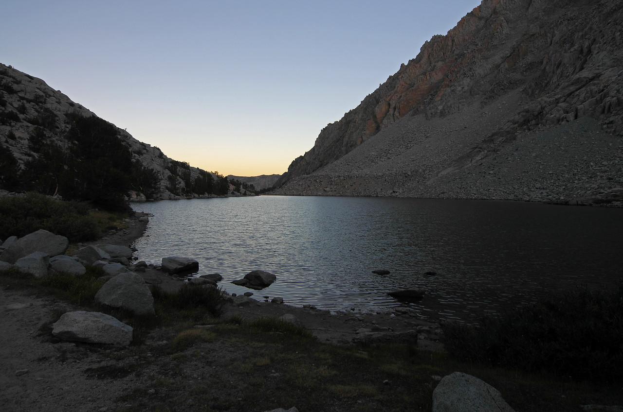 Loch Leven, 6:17pm.