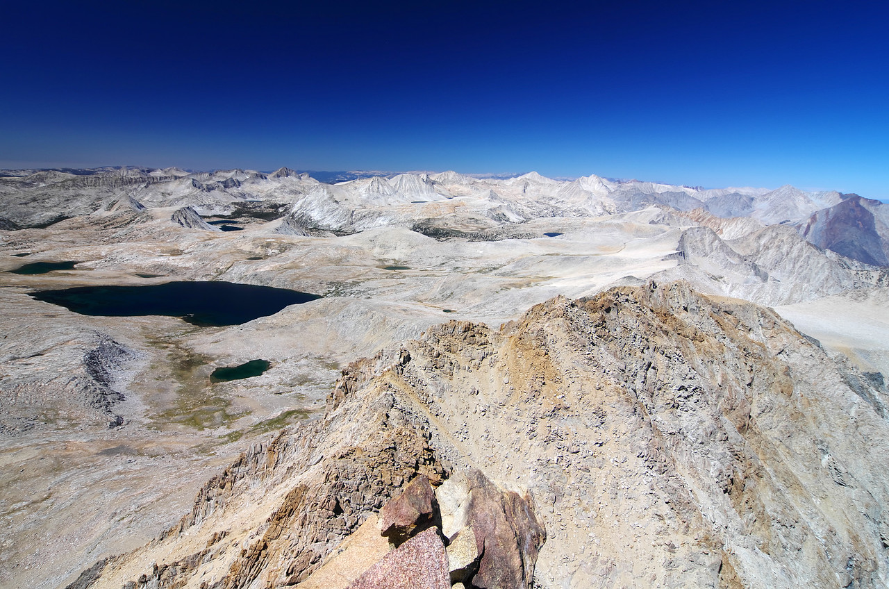 There's a very beautiful white luminessence comming from the upper Humphreys basin and surrounding area--very beautiful beyond words or even what this picture can depict.