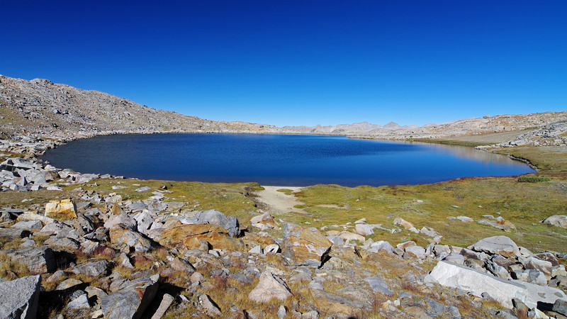 The Highest Humphreys Lake ~12,000ft.