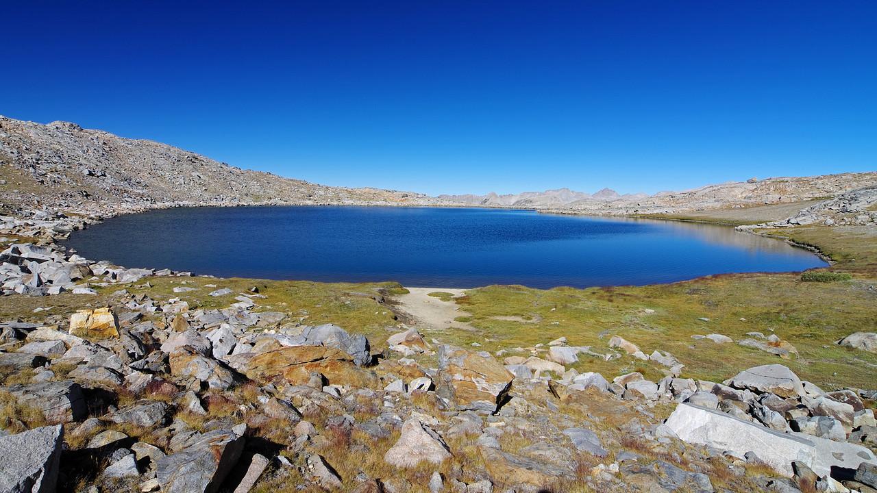 The Highest Humphreys Lake ~12,000ft.
