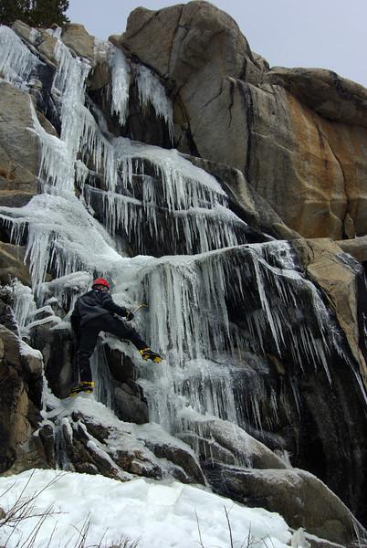 Mt. Sill Attempt III via the North Fork of Big Pine Creek, April 2007