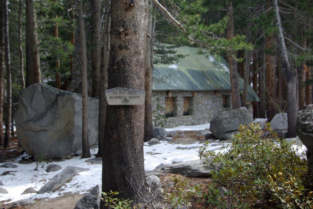 Big Pine Creek Wilderness Ranger Camp