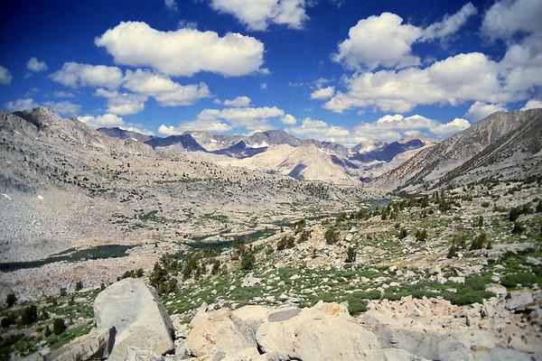 Mt. Sill Ascent I via Knapsack Pass, July 2001