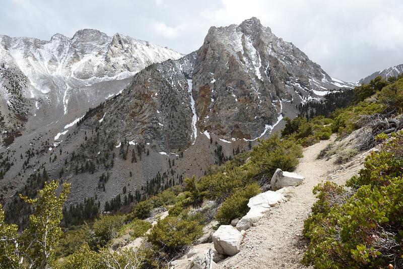 Shepherd Pass comes into view.
