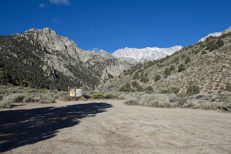 7AM, Day 1--Shepherd Pass Hiker Trailhead