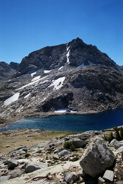 Muriel Peak and the lower Goethe Lake