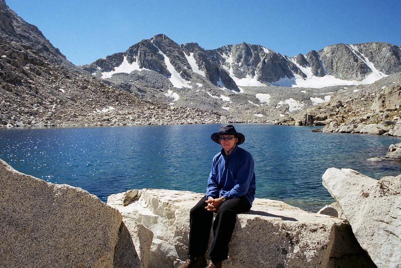 Me, 21 @ the lower Goethe Lake