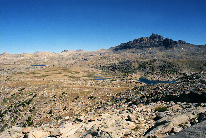 Mt Humphreys and the Humphreys Basin, Desoloution Lake in the background.
