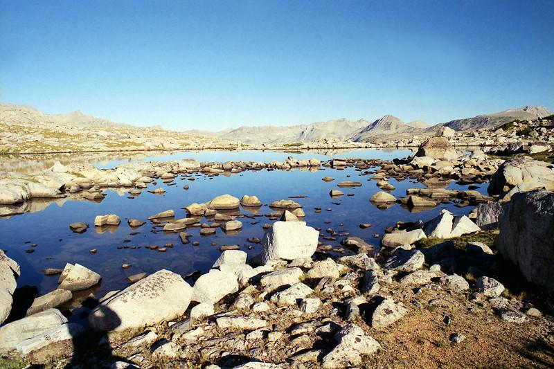 Muriel Lake early morning