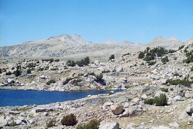 Muriel Lake looking NW.