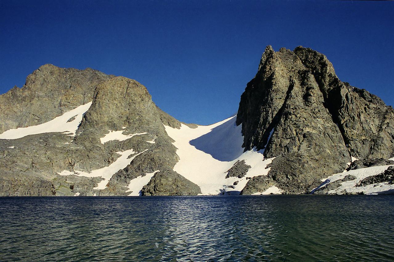 3   Banner Peak & Mt Ritter, Trip 13, August 2000