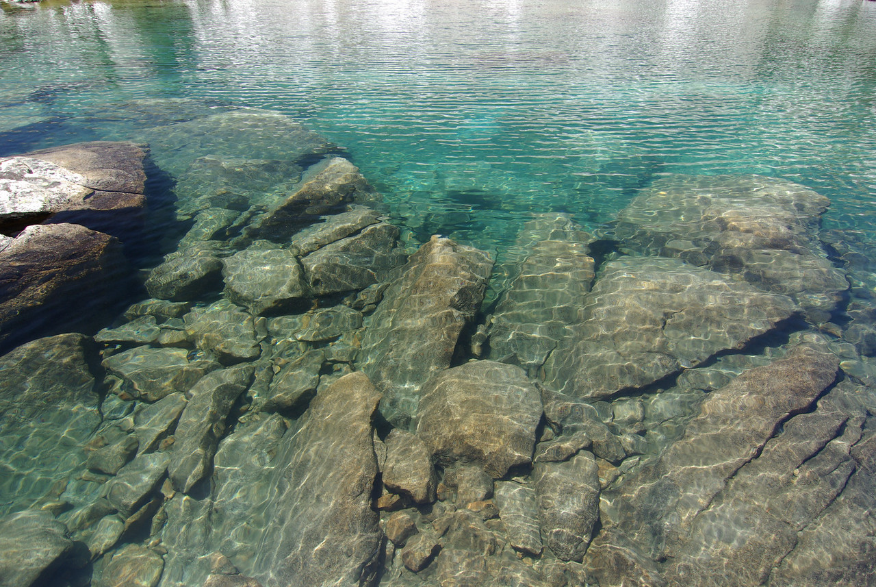 Crystal-Clear Water, Anne Lake
