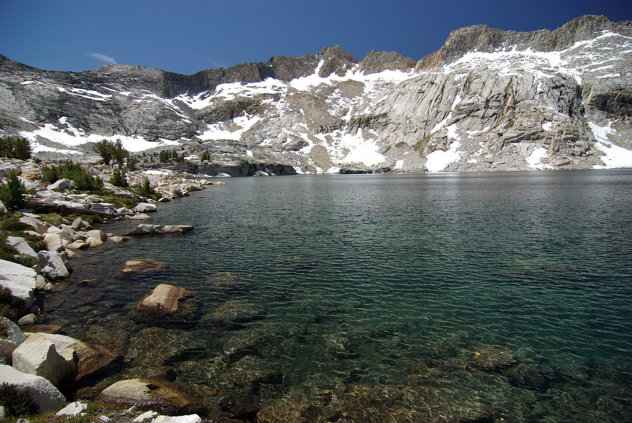 Anne Lake with Graveyard Peak in the Background