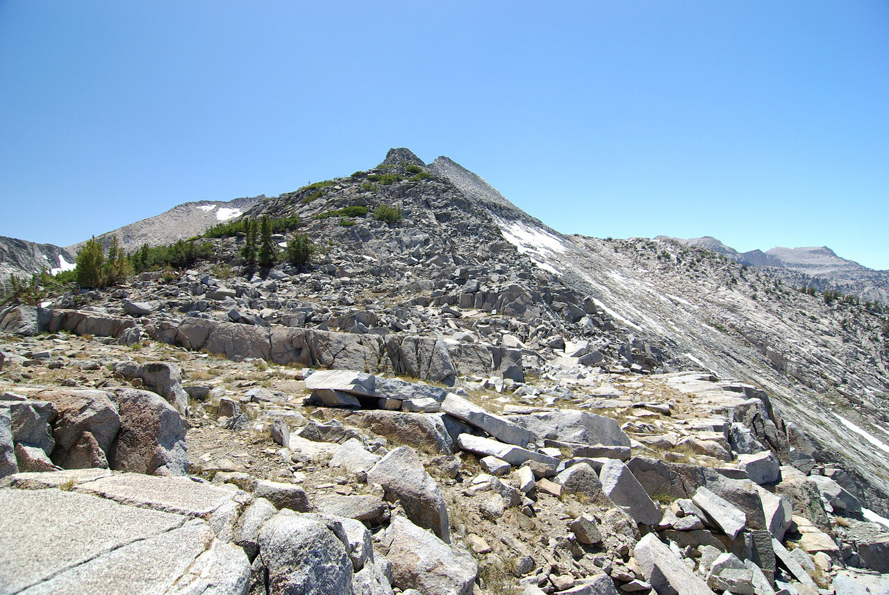 The Short-Cut over Silver Divide Looking West
