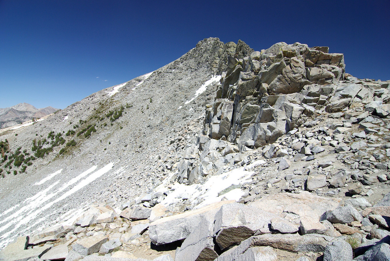 The Short-Cut over Silver Divide Looking East