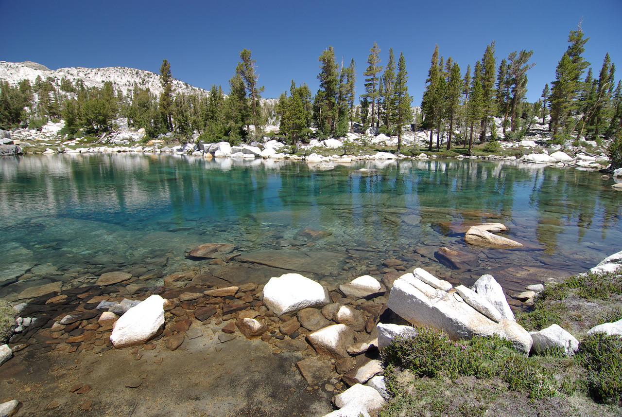 The Turquoise-Tint of Anne Lake