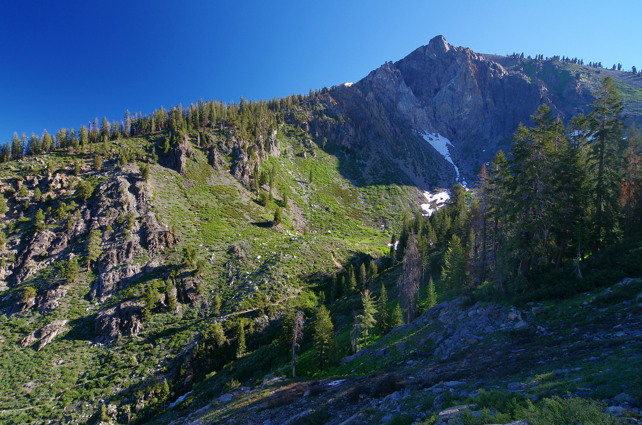 Looking North from the trail--about 9,000ft.