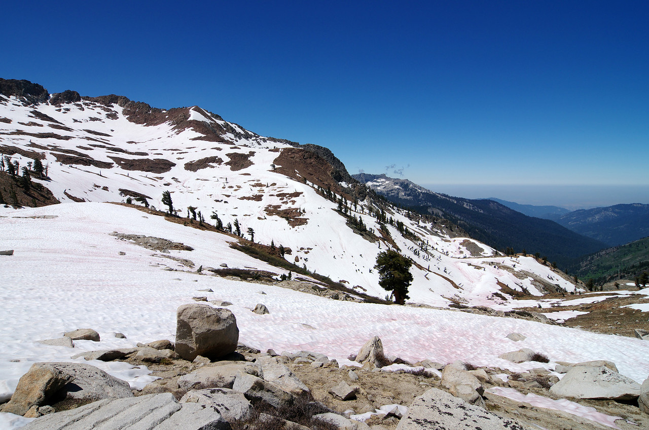 Looking West from the base of Sawtooth Pass.