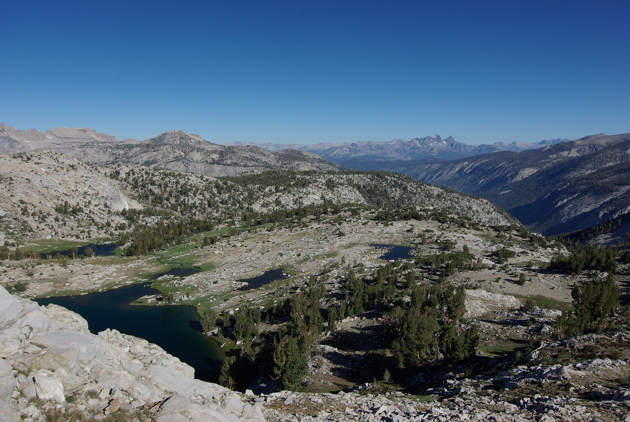 Looking NW from Silver Pass
