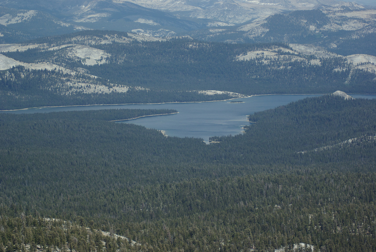 Courtright Reservoir from the Southern Three Sister