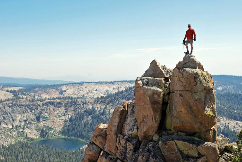 David atop of the Northern Three Sister