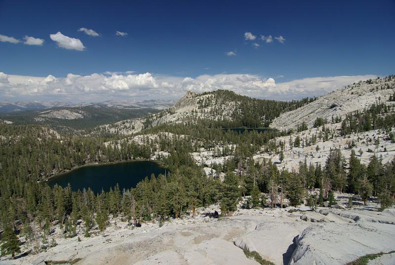 The 2nd Dinkey Lake and Rock Lake