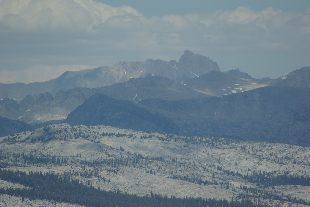 Mt  Humpreys from the Southern Three Sister