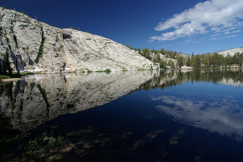 Rock Lake, July 2009, 9:57 am