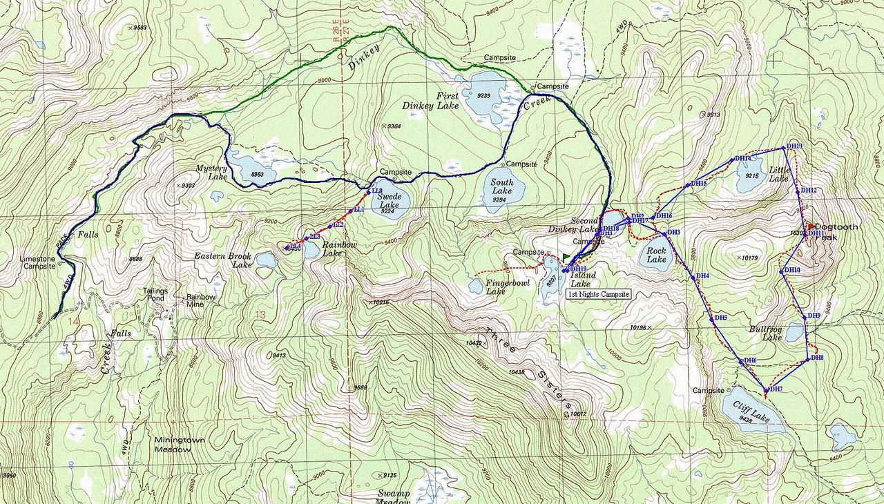 Trail & Off-Trail Destinations