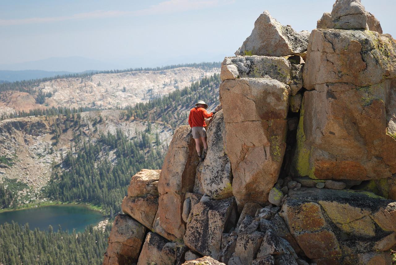 David Climbing