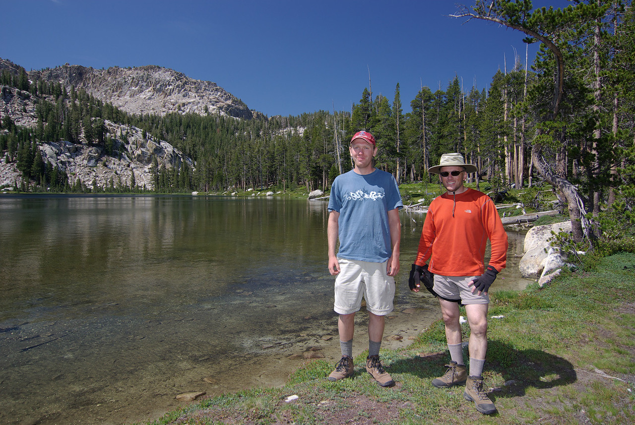 David and Ben at South Lake 2009