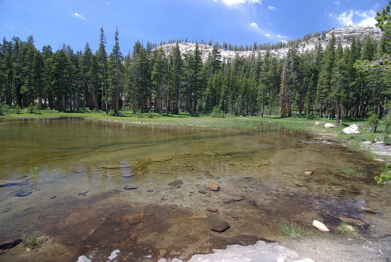 Little Lake, one of many shallow Dinkey Lakes