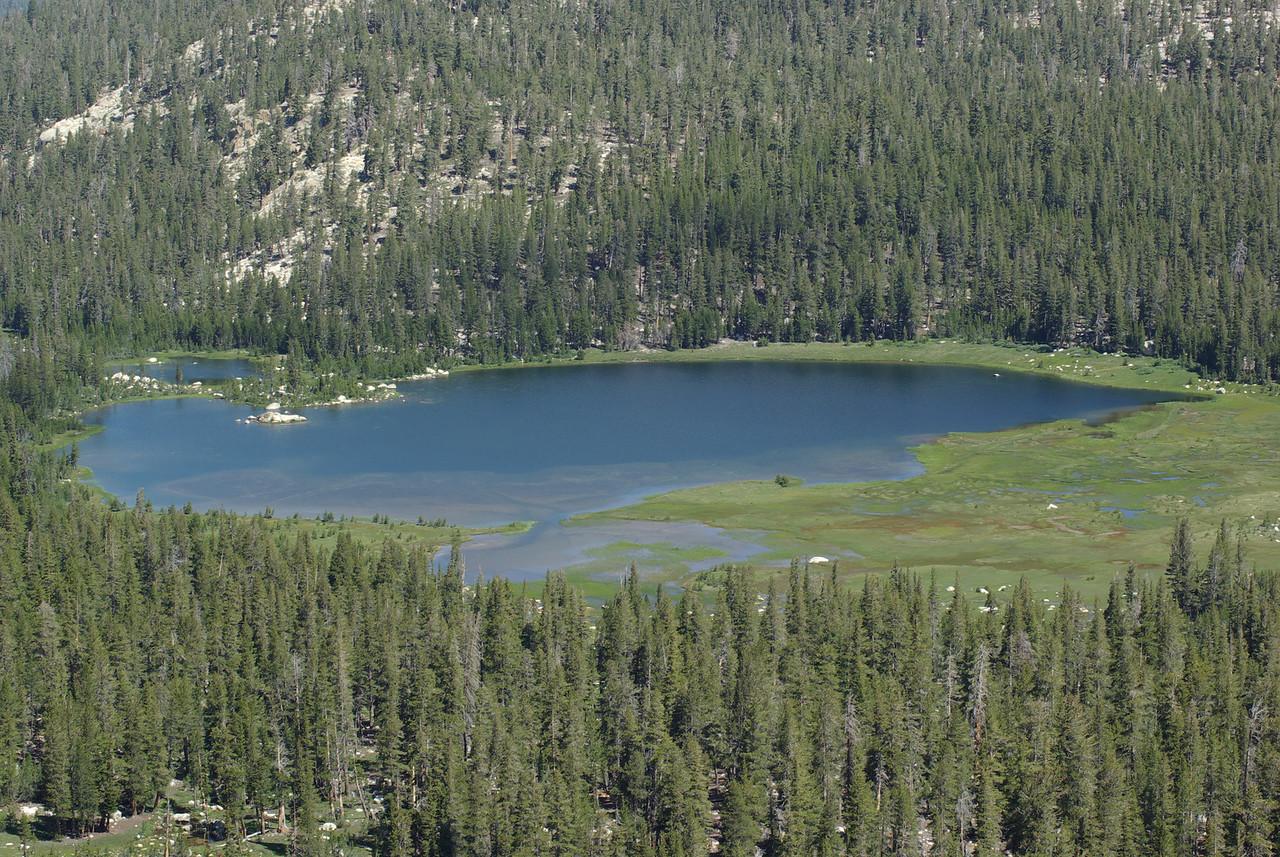 A Close-Up of the 1st Dinkey Lake