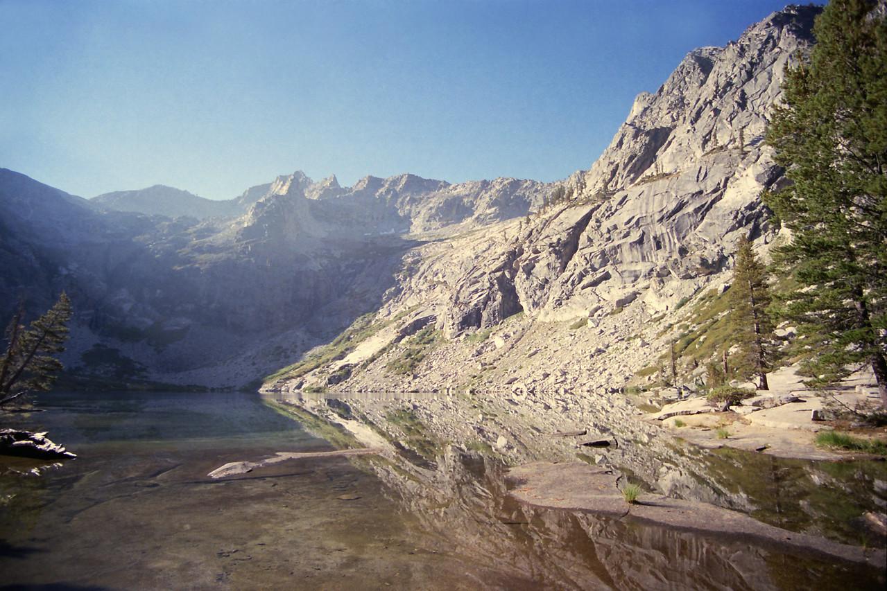 The upper Hamilton Lake