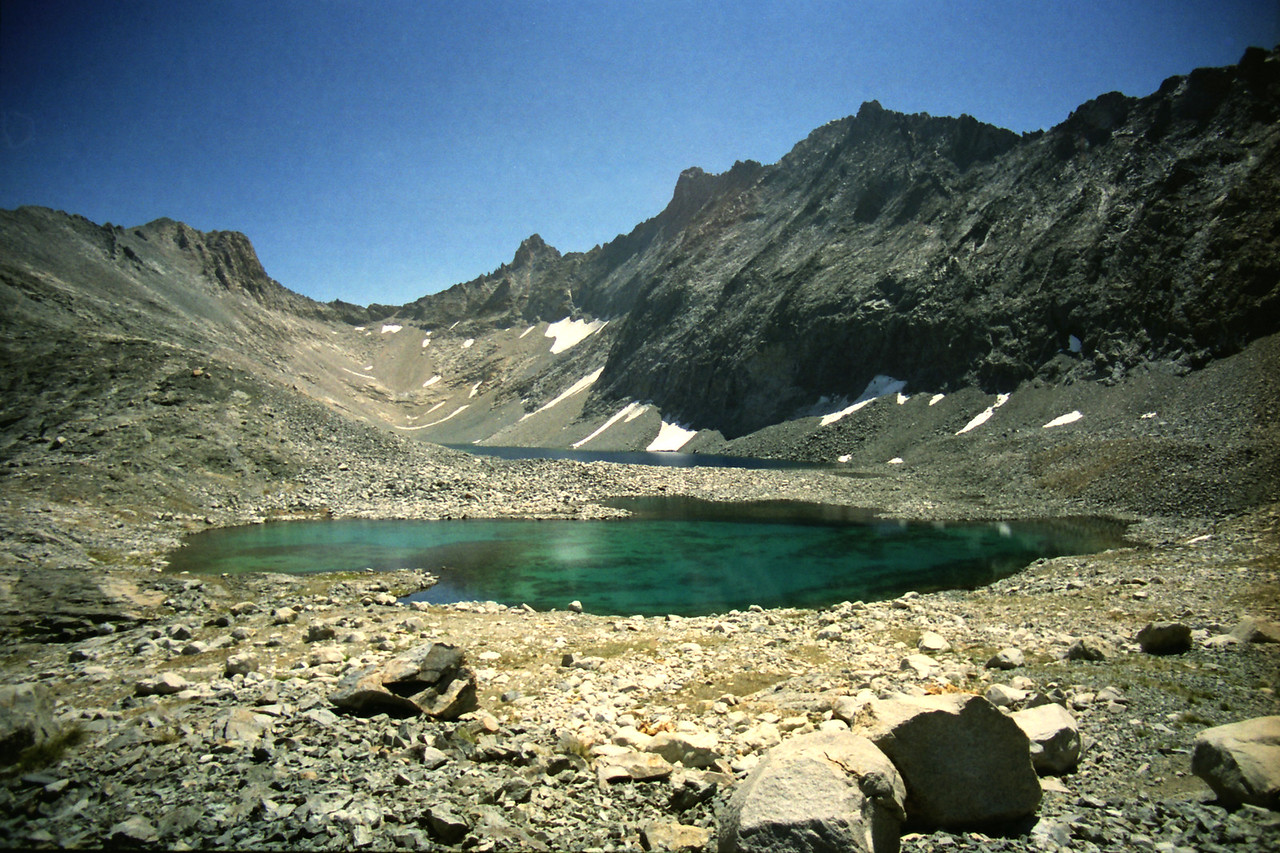 The Highest Lakes in the Nine Lake Basin