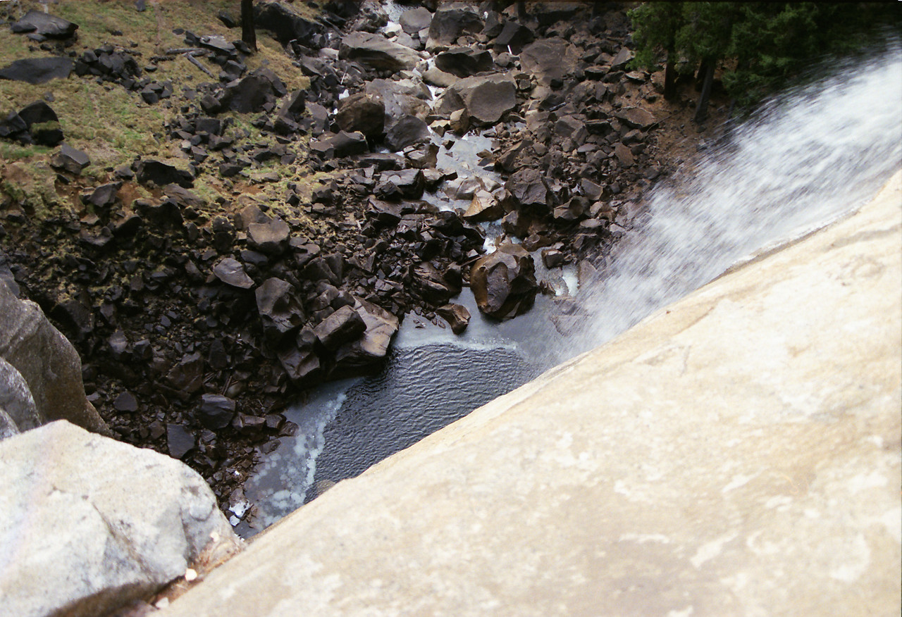 The Bottom of the Nevada Falls