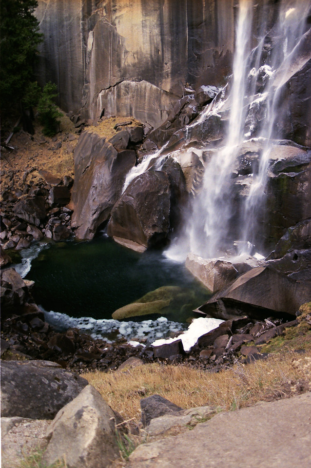 The Bottom of the  Vernal Falls