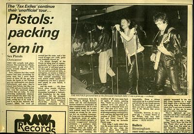 NME 1978 Sex Pistols