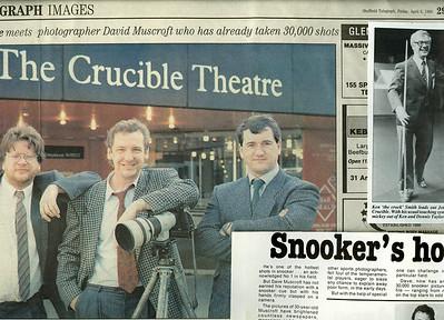 Sheffield Telegraph magazine Snooker Feature