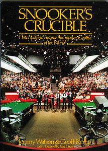 SNOOKERS CRUCIBLE-COVER